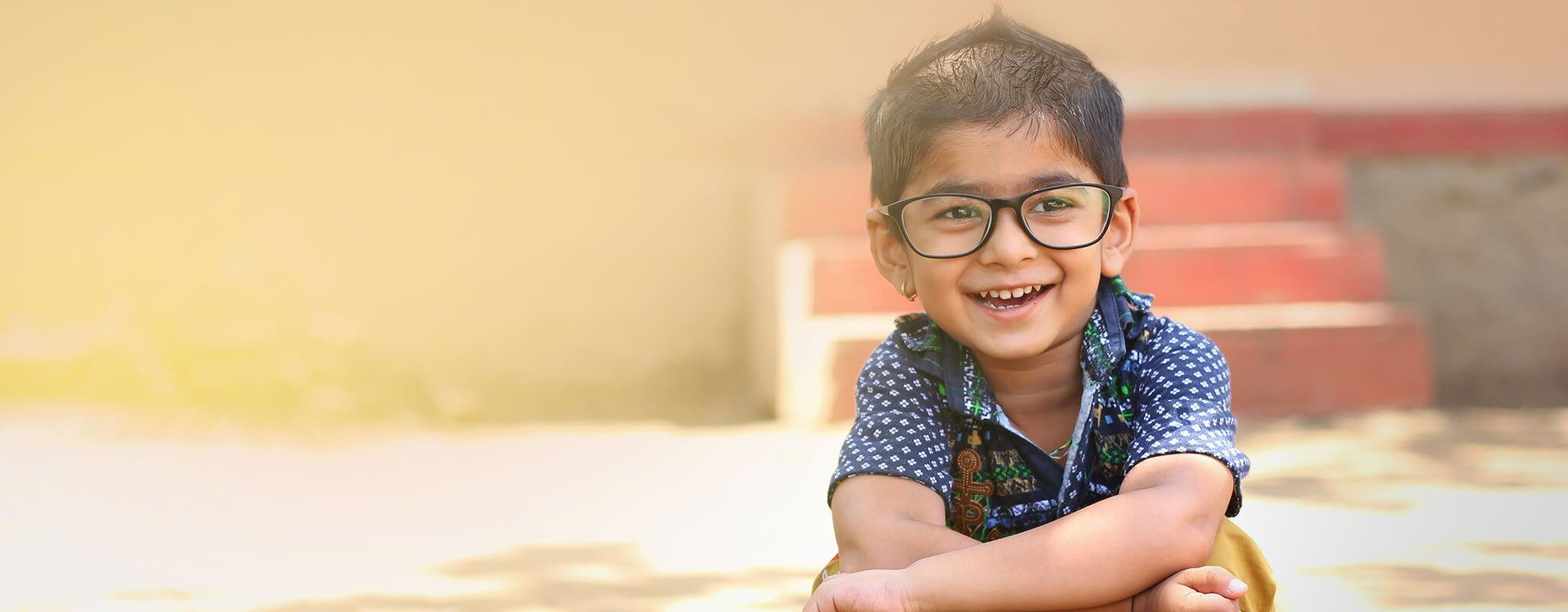 Indian boy wearing glasses Banner image for Gwinnett Pediatrics and Adolescent Medicine, Gwinnett Pediatricians