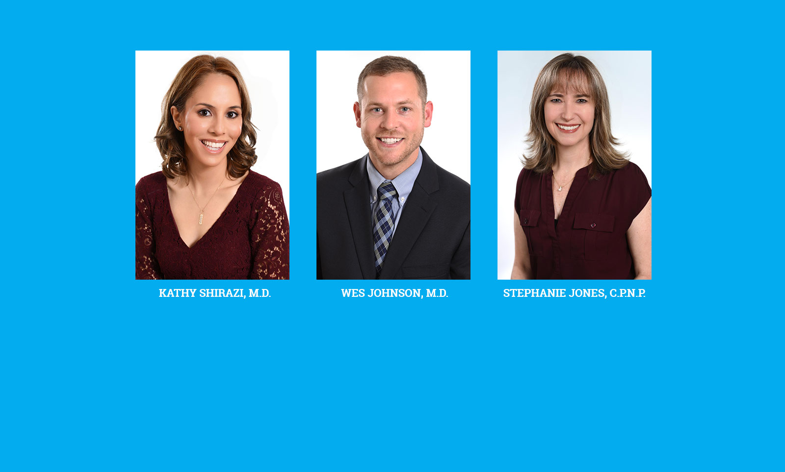 New providers Banner image for Gwinnett Pediatrics and Adolescent Medicine, Gwinnett Pediatricians